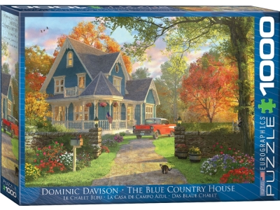 THE BLUE COUNTRY HOUSE 1000pc