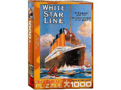 TITANIC WHITE STAR LINE 1000pc
