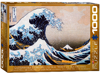 GREAT WAVE OF KANAGAWA 1000pc