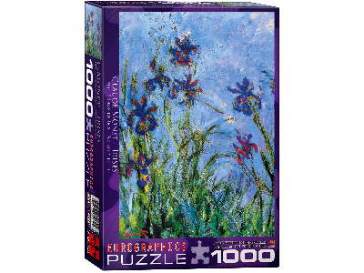 MONET, IRISES 1000pc