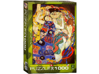 KLIMT, THE VIRGIN 1000pc