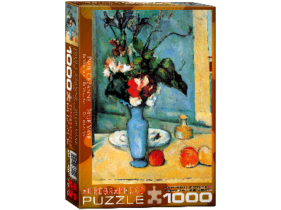 CEZANNE, BLUE VASE 1000pc