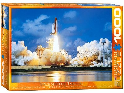 SPACE SHUTTLE TAKEOFF 1000pc