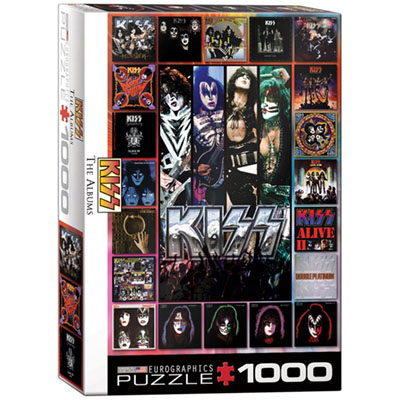 KISS DISCOGRAPHY COLLAGE 1000p