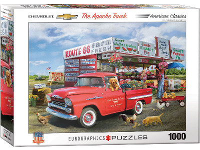 THE APACHE TRUCK 1000pc