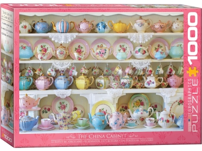 THE CHINA CABINET 1000pc