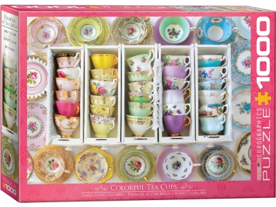 COLORFUL TEA CUPS 1000pc