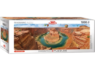 HORSESHOE BEND PANORAMA 1000pc