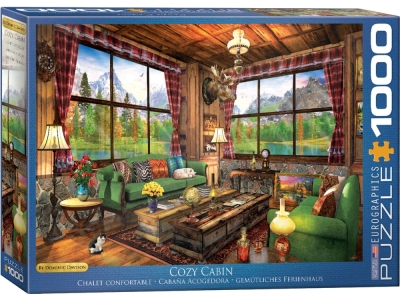 COZY CABIN 1000pc