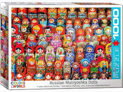RUSSIAN MATRYOSHAKA DOLLS 1000