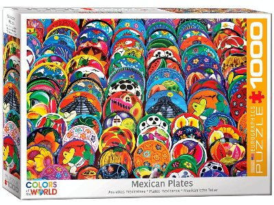 MEXICAN CERAMIC PLATES 1000pc