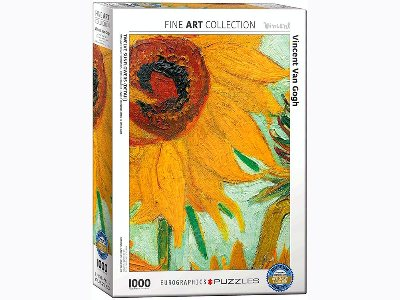 VAN GOGH, SUNFLOWER 1000pc