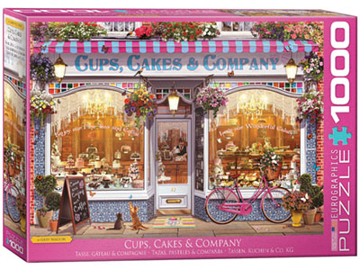 CUPS CAKES & CO 1000pc
