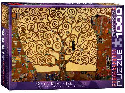 KLIMT, TREE OF LIFE 1000pc