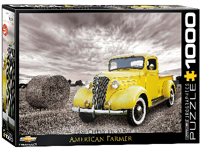 1937 CHEVY PICKUP 1000pc