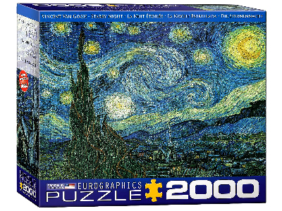 VAN GOGH, STARRY NIGHT 2000pc