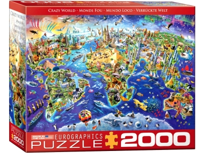 CRAZY WORLD 2000pc