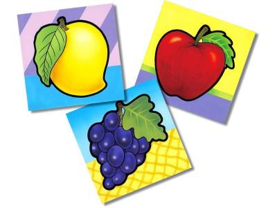 FRUITS FIRST PUZZLE