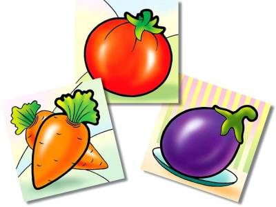 VEGETABLES FIRST PUZZLE