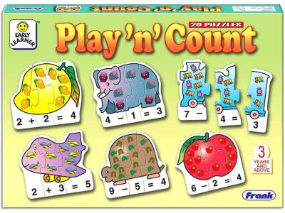 PLAY 'N' COUNT PUZZLE 60pc