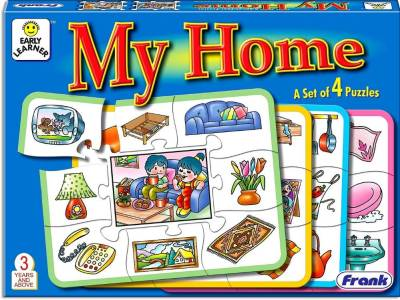 MY HOME PUZZLE (set of 4)