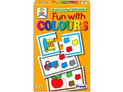 FUN WITH COLOURS PUZZLE 40pc