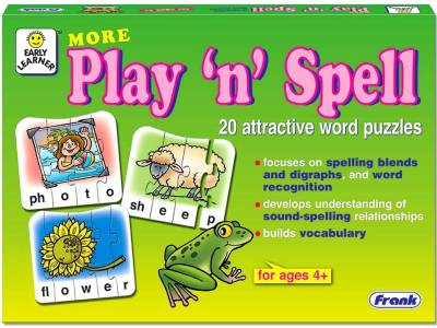 MORE PLAY 'N' SPELL PUZZLE