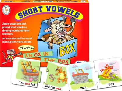 SHORT VOWELS PUZZLE