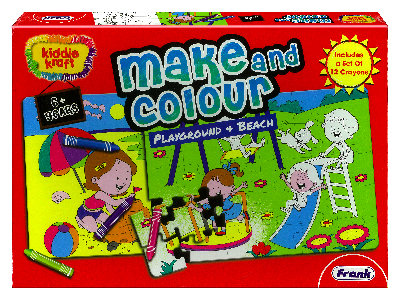 MAKE & COLOUR PLAYGROUND BEACH