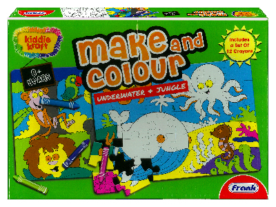 MAKE & COLOUR UNDERWATR JUNGLE