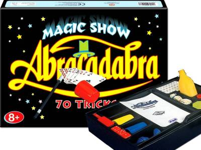 ABRACADABRA MAGIC (70 TRICKS)