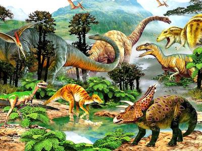 PREHISTORIC WORLD 500pc