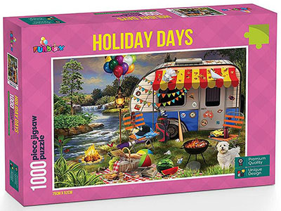 HOLIDAY DAYS CARAVANNING 1000p