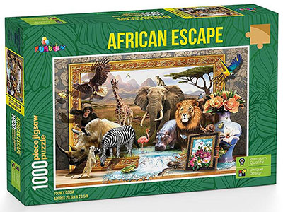 AFRICAN ESCAPE 1000pcs