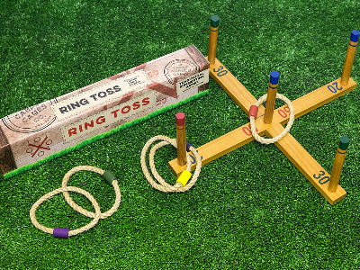 GARDEN GAMES RING TOSS