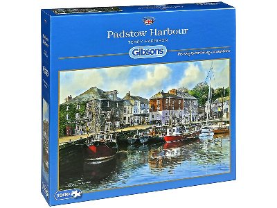 PADSTOW HARBOUR 1000pc