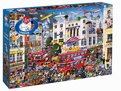 I LOVE LONDON 1000pc