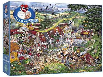 I LOVE THE FARMYARD 1000pc