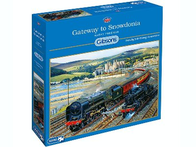 GATEWAY TO SNOWDONIA 1000PC