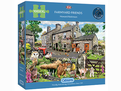 FARMYARD FRIENDS 100pcXXL