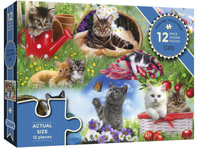 PIECING TOGETHER CATS 12pc
