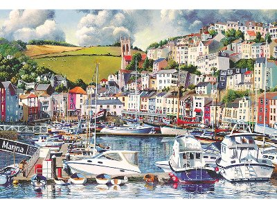 BRIXHAM MARINA 500pc