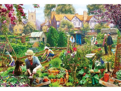 GREEN FINGERS 500pc
