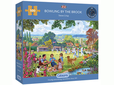 BOWLING BY THE BROOK 500pc