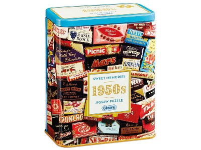 1950s SWEET MEMORIES TIN 500pc