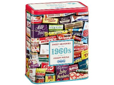 1960s SWEET MEMORIES TIN 500pc