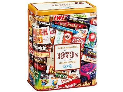 1970s SWEET MEMORIES TIN 500pc