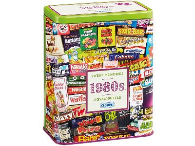 1980s SWEET MEMORIES TIN 500pc