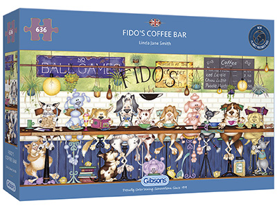 FIDO'S COFFEE BAR 636pc