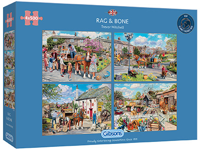 RAG & BONE 4 x 500pc